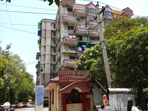 Celestial heights apartment