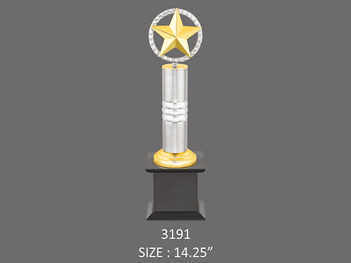 Metal Trophy MT-3191