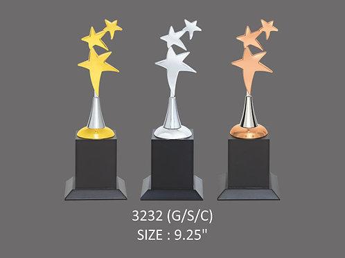 Metal Trophy MT-3232