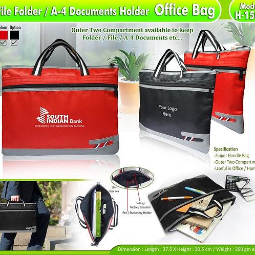 File Folder A4 Document Holder Office Bag CI-H-1502