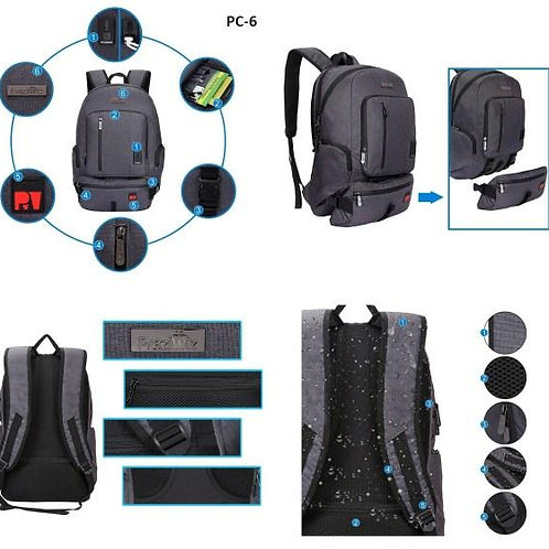 Backpack With Waist Pouch CI-PC-06