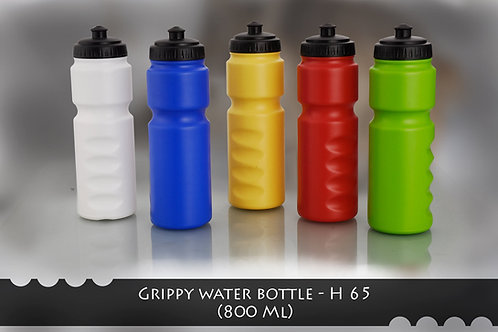 Grippy water bottle (800 ml) H-65