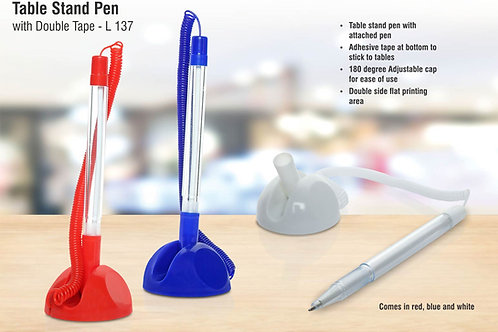 Table stand Pen with double tape L-137