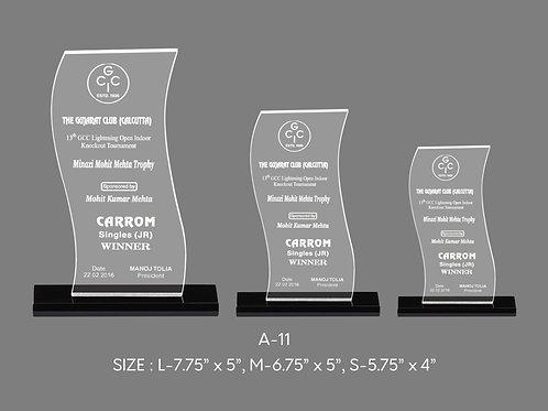 Acrylic Trophy  A-11