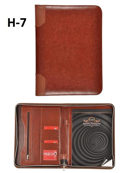 Conference Folder-Tan Changer Zipper H-07