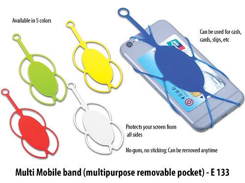 Multi Mobile band (multipurpose removable pocket) E-133