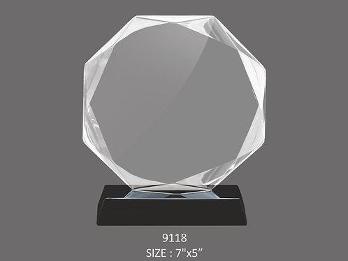 CRYSTAL TROPHY CT-9118