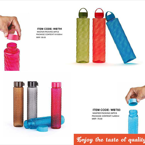 Honey comb water bottle with traditional cap CI-JMD-41