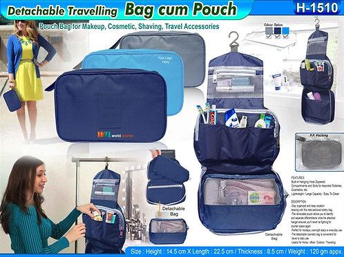 Detachable Travelling  Bag Cum Pouch CI-H-1510