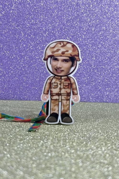 Personalised Cartoon Rakhi With Magnet CI- 61