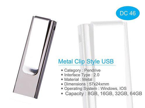 Metal Clip Style USB DC-46