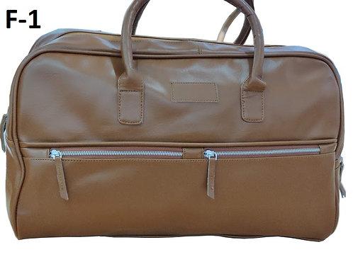 Duffle Bag Vegan Leather F-01