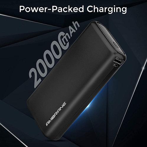 Ambrane 20000mAh Li-Polymer Powerbank CI-APB-01