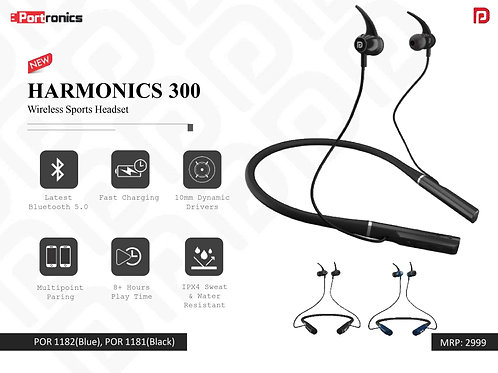 HARMONICS 300 Wireless Sports Headset POR-1181