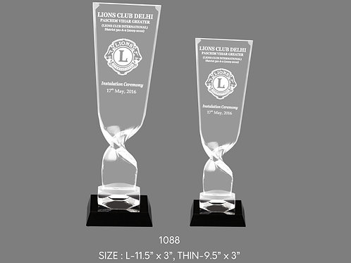 Acrylic Trophy  AT-1088