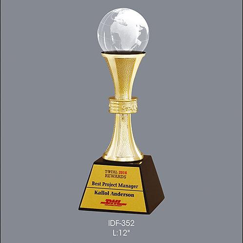 Metal Trophy IDF-352