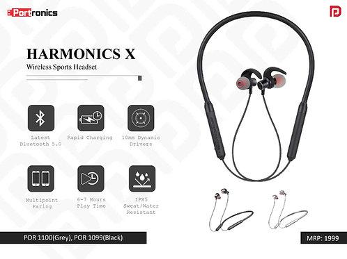 HARMONICS X Wireless Sports Headset POR-1099