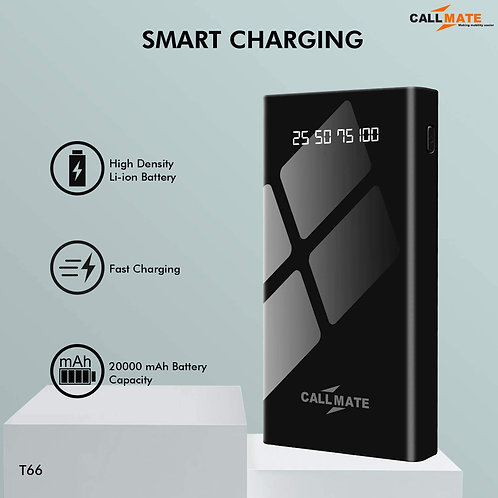 Call Mate Fast Charge Power Bank 20000 mAh CI-CM-02