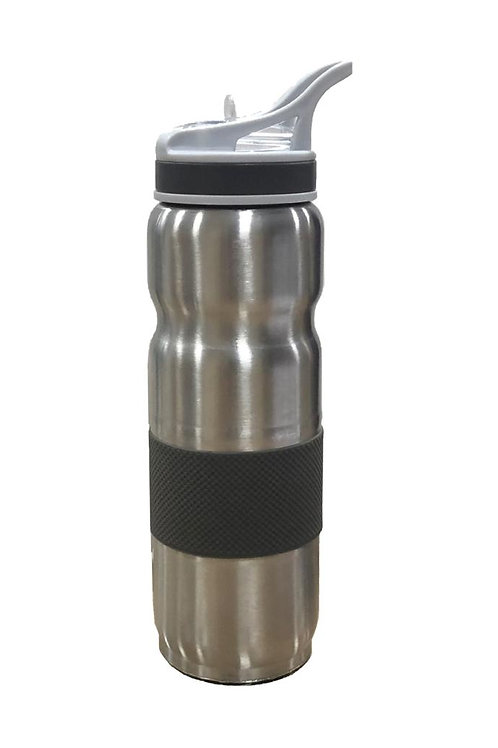 SINGLE WALL SS SIPPERS WITH VARIETY OF CAPS (800 ML) GM-432