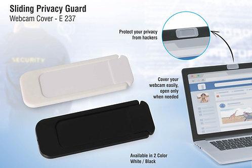 Sliding privacy guard webcam cover E-237