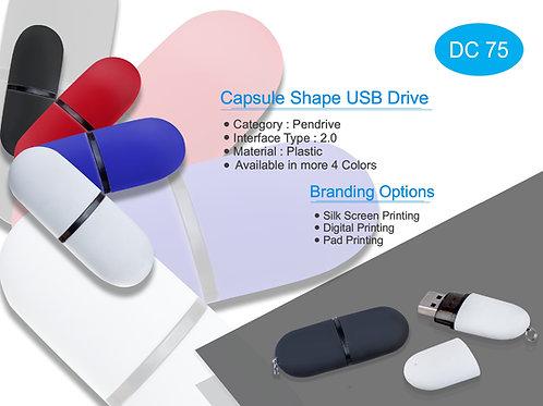 Capsule Shape USB Drive DC-75