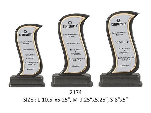 Wooden Trophy WD-2174