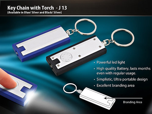 Key Chain with Torch J-13