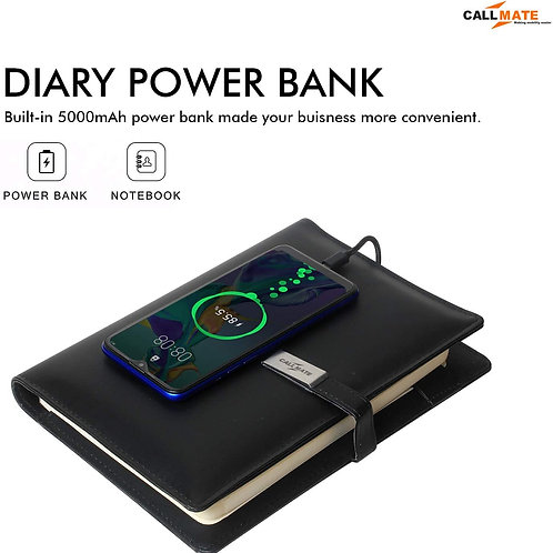 Call Mate PU Leather 5000 mAh Power bank CI-CM-16