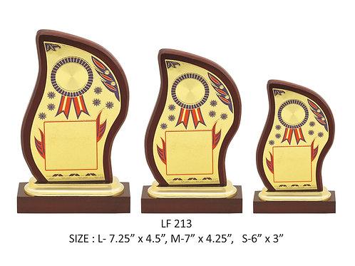 Wooden Trophy WD-LF213