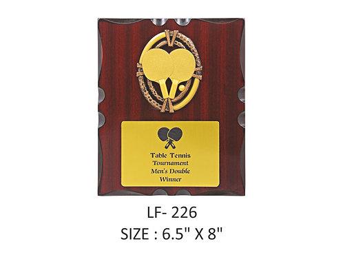 Wooden Trophy WD-LF226
