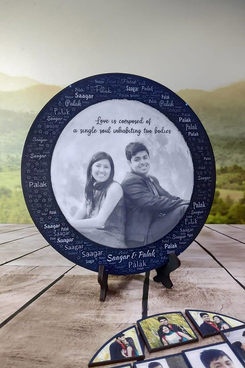 Personalized  Magnetic Photo Stand photo Frame CI-13
