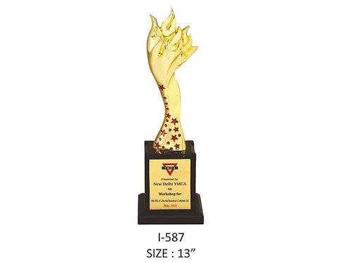 Metal Trophy I-587