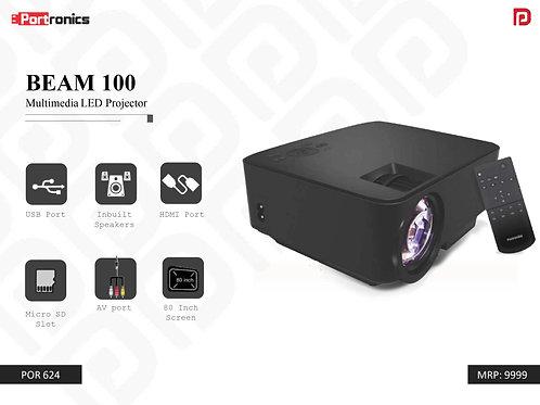 BEAM 100 Multimedia LED Projector POR-624