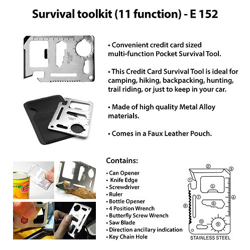 Survival toolkit (11 function) E-152