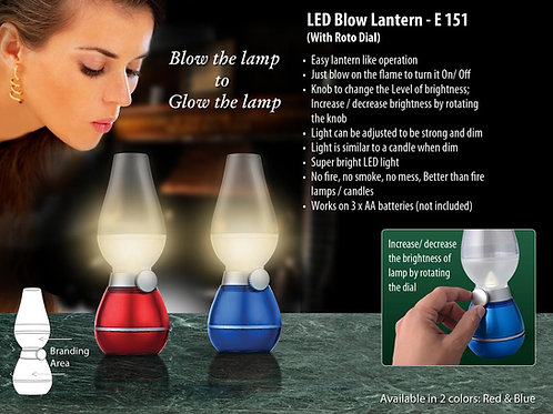 Blow lantern with roto dial (compact size) E-151