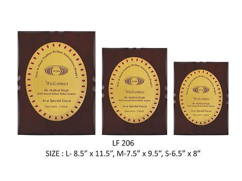 Wooden Trophy WD-LF206