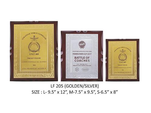 Wooden Trophy WD-LF205