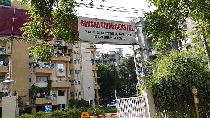 Sansad vihar apartment