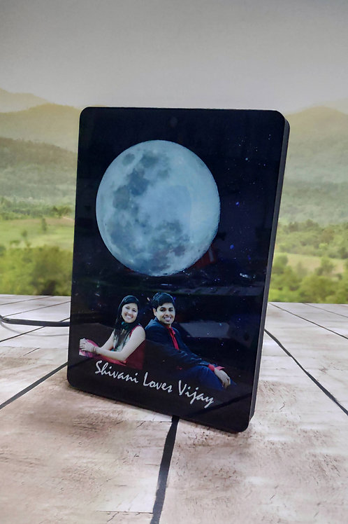 Personalized  Magic Moon Light photo Frame CI-06