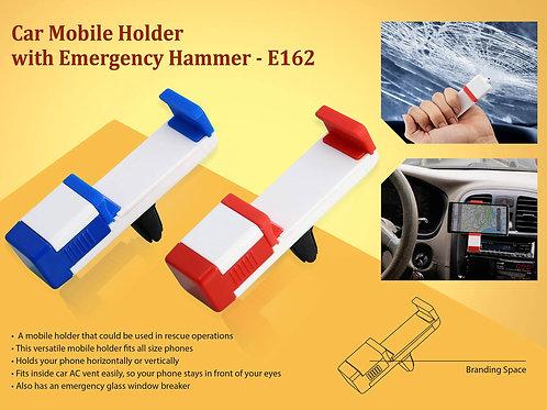 Car Vent mobile holder with emergency hammer E-162