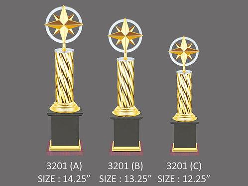 Metal Trophy MT-3201
