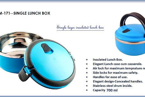 SINGLE LAYER LUNCH BOX--700 ML GM-171