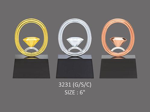 Metal Trophy MT-32331