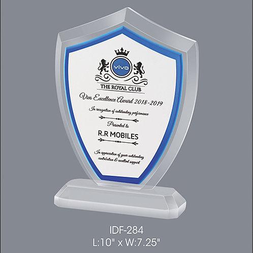 Acrylic Trophy  IDF-284