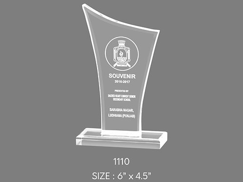 Acrylic Trophy  AT-1110