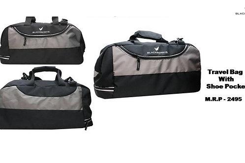 Blackberry Travel Bag With Shoe Pocket CI-BB-B08