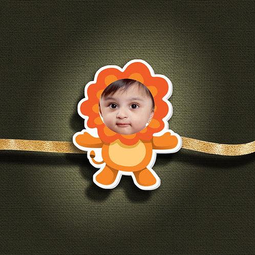 Personalised Cartoon Rakhi With Magnet CI- 49