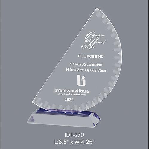 Acrylic Trophy  IDF-270