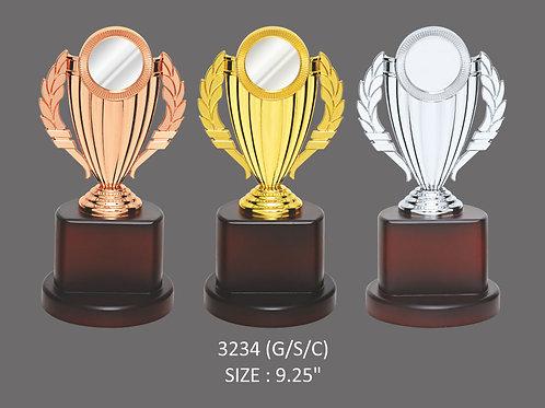 Metal Trophy MT-3234