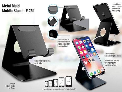 Metal universal mobile stand E-251